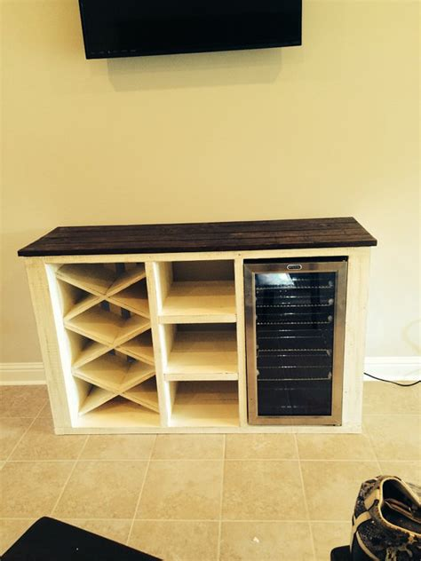 cabinet mount wine cooler buffet with wine rack and storage for wine cooler solid