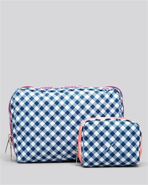 Lesportsac Large Pouch lesportsac cosmetic pouch set large rectangle combo