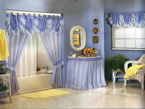 curtain ideas for bathrooms modern bathroom shower curtains ideas blue hookless