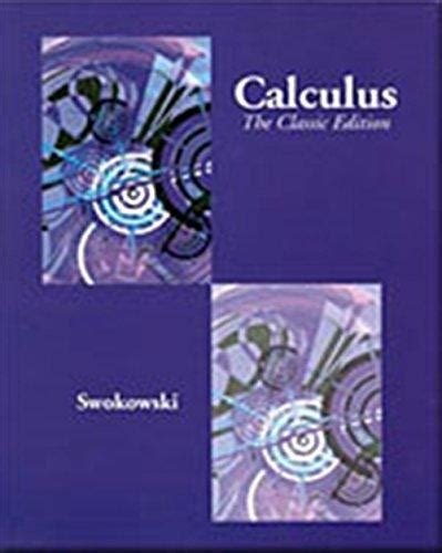 calculus 5th edition ebook isbn 9780534435387 calculus 5th edition direct textbook