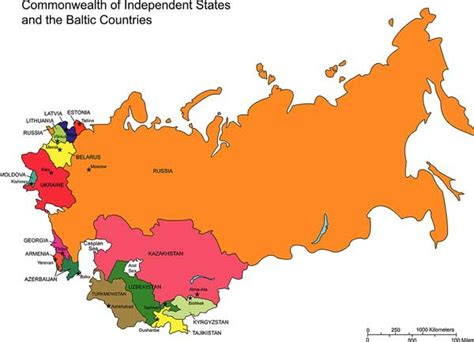 russia and cis map quiz commonwealth of independent states cis nations