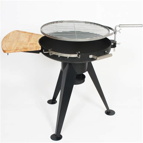 Edelstahl Feuerschale Grill by Bbq Grill Holzkohle Feuerschale Standgrill Edelstahl Ebay
