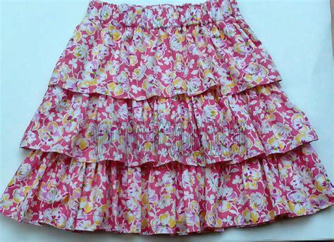 membuat rok anak sendiri my hobby membuat rok ruffle 2 rok rempel anak 2