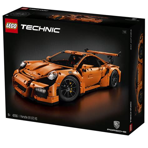 lego porsche lego technic porsche 911 gt3 rs 42056 officially