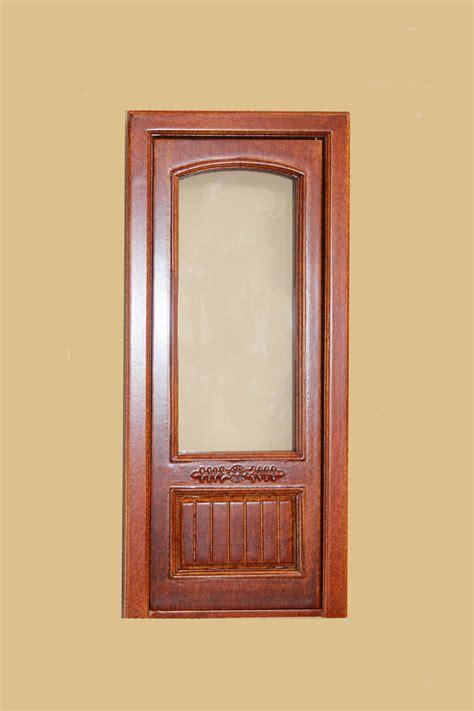 Single Door by Provincial Single Door With Glass Walnut 843nwn