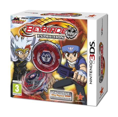Nintendo 3ds Beyblade Evolution 3ds beyblade evolution tol