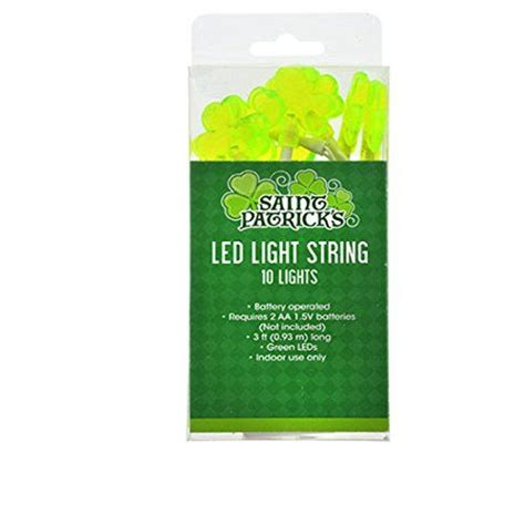 battery operated shamrock lights 58 best st particks day supplies images on