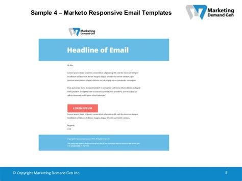 Marketo Responsive Email Templates Marketo Responsive Email Templates