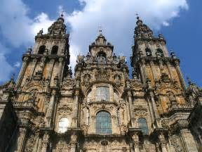 St Cathedral Cathedral Of Santiago De Compostela Of St