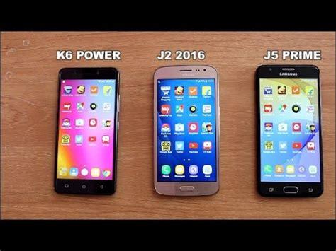 Samsung J3 Pro Vs J5 Prime lenovo k6 power vs samsung j2 2016 vs j5 prime speedtest comparison ii