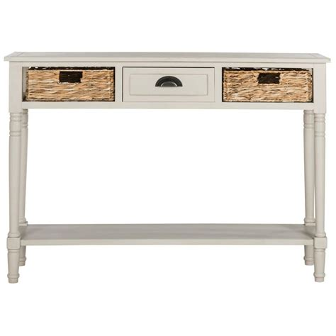 home depot console home decorators collection mitchell black rubbed storage