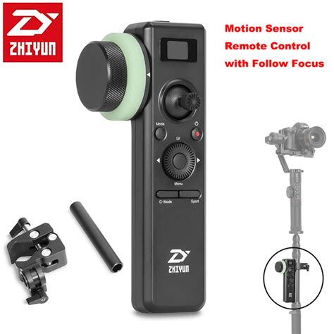 Zhiyun Motion Sensor Remote With Follow Focus For Crane 2 Zhiyun Crane 2 Motion Sensor Remote With Follow