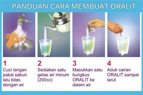cara membuat oralit adalah cara membuat oralit dengan mudah dan tips ketika terkena