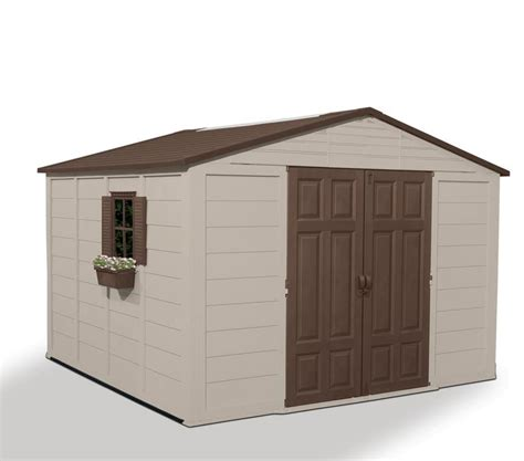 10x10 Shed Kit by Plans To Build A Garden Shed Plastic Outdoor Storage