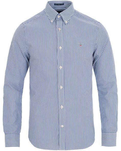 Fit Stripe Shirt gant slim fit poplin stripe shirt yale blue hos careofcarl