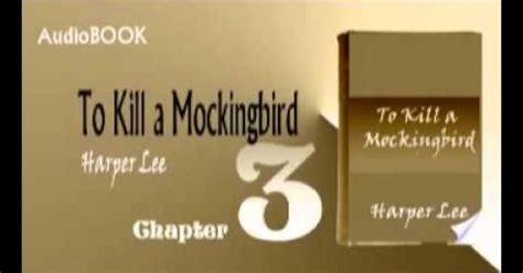 themes in to kill a mockingbird chapter 3 to kill a mockingbird audiobook chapter 3 protest and