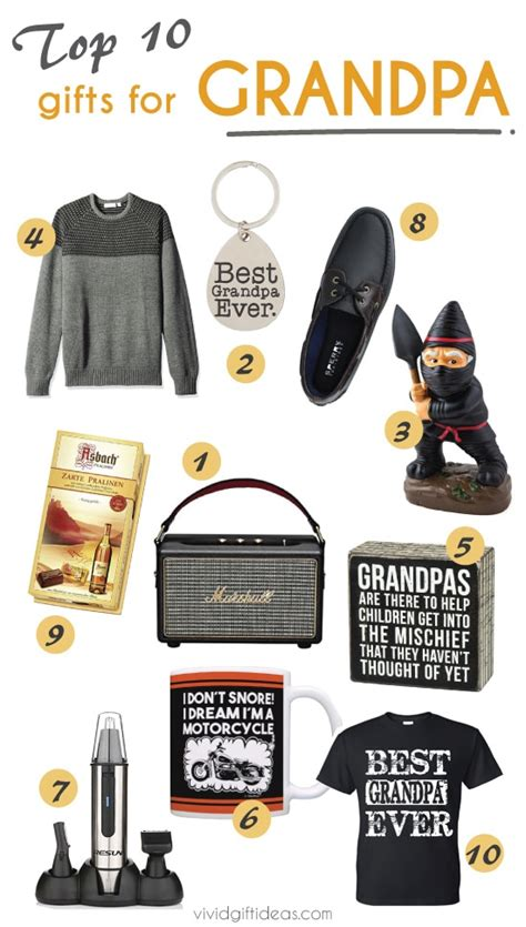 10 Great Gifts For by Top 10 Fathers Day Gift Ideas For S
