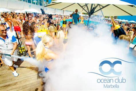 Ocean Club Marbella Parties events