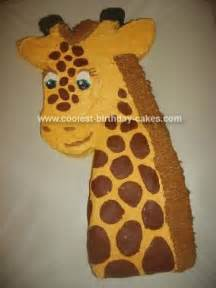 giraffe cake template coolest pony cake birthday ideas