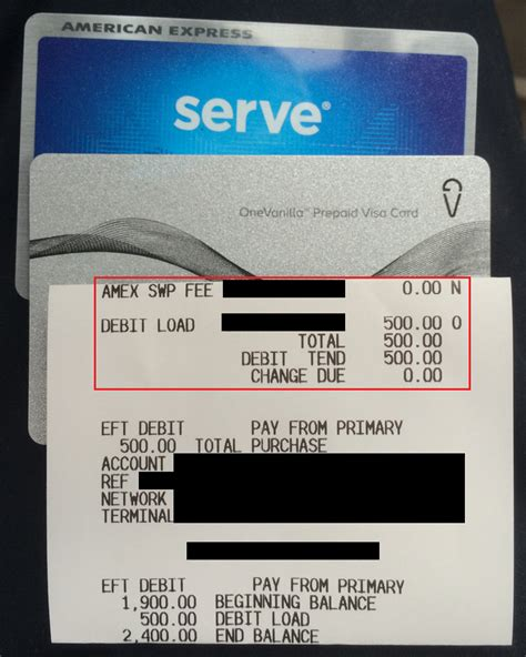 Walmart Amex Gift Card - how to load gift cards at walmart to your serve card