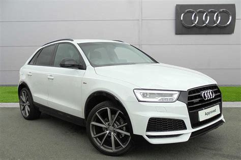 used audi q3 used 2017 audi q3 black edition 2 0 tdi quattro 150 ps s