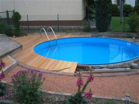 holzterrasse pool selber bauen nowaday garden