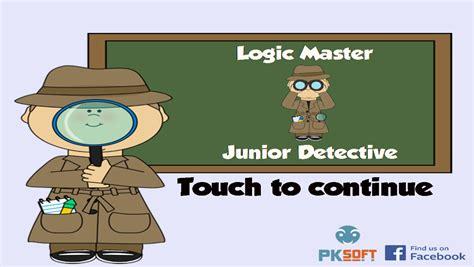 Original Thistime Brand 01 logic master junior detective paid version by pksoft