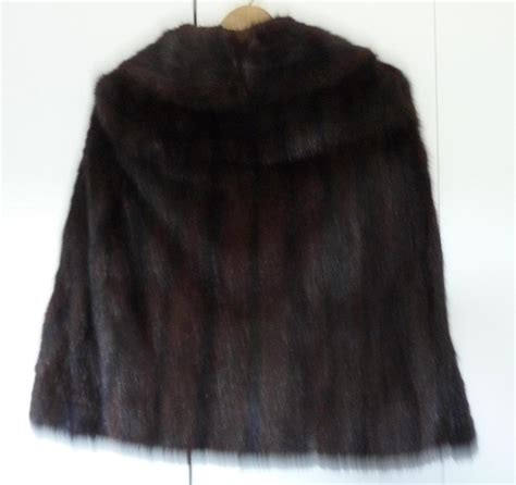 Get An Ermine Fur Cape Formerly Owned By Jean Harlow by Mink Fur Cape Bolero Wrap Vintage Sz S Vintage
