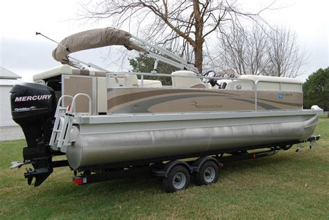 pontoon boats with head bennington 2275gl pontoon boat mercury 115hp trailer