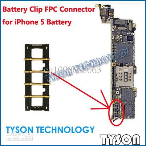 Iphone 5 Battery Port Fpc 1 iphone 5 battery clip fpc connector end 5 1 2019 10 37 am