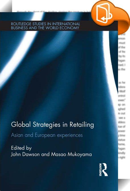 international retailing books global strategies in retailing dawson masao