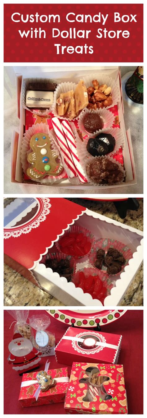 Inexpensive Hostess Gifts by Dollar Store Candy Box Gift With Martha Stewart 187 Dollar