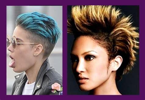 los mejores peinados punk los peinados
