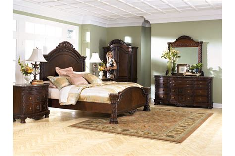 ashley furniture north shore bedroom set b553 home north shore king panel bed ashley furniture homestore