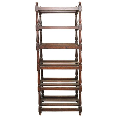 etagere 8 cases but oak etagere for sale at 1stdibs