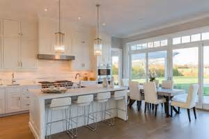 white kitchen with island 57 luxury kitchen island designs pictures designing idea