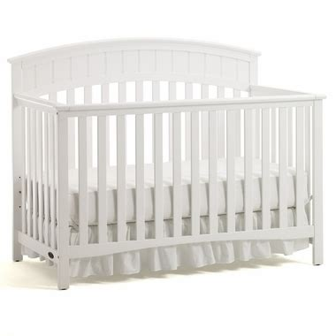 White Graco Convertible Crib Graco Cribs Charleston 4 In 1 Convertible Crib In White Free Shipping