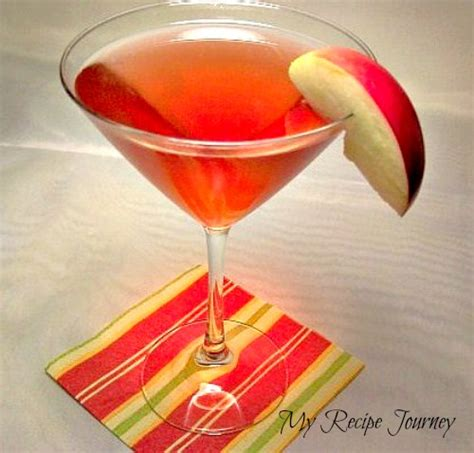 red apple martini my recipe journey my favorite cocktail homemade