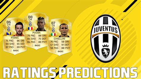 17 best images about video fifa 17 top ten juventus players rating predictions