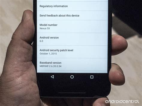android security patch les nexus 6p et 5x jouent la transparence concernant les mises 224 jour de s 233 curit 233 frandroid