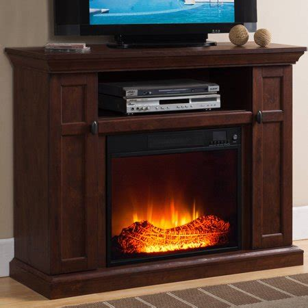 prokonian electric fireplace with 46 quot mantle with storage