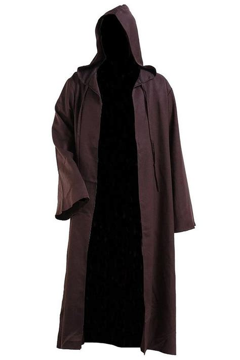 mens jedi robe popular brown hooded robe buy cheap brown hooded robe lots