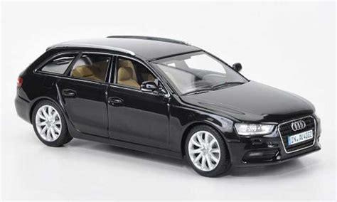 Audi A4 Avant Modellauto by Audi A4 Avant Schwarz 2012 Minichs Modellauto 1 43