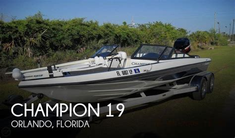 fishing boat for sale orlando for sale used 1999 chion 19 in orlando florida boats