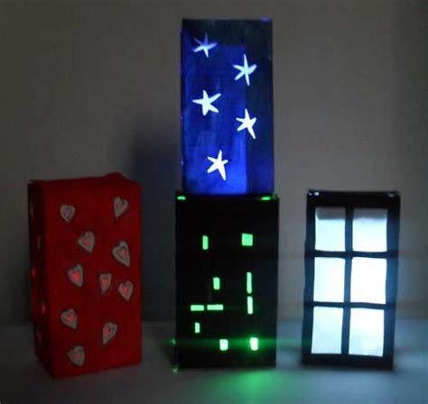 Crafts Using Lights Night Light Lanterns Think Crafts By Createforless