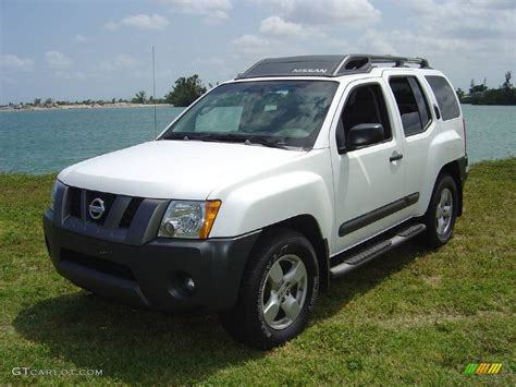 2005 avalanche white nissan xterra se 354272 gtcarlot car color galleries
