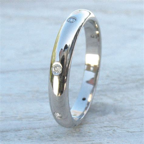 Handmade Eternity Rings - handmade eternity ring in 18ct gold by lilia nash