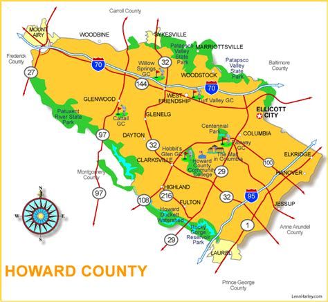 Howard County Property Records Howard County Maryland Map My
