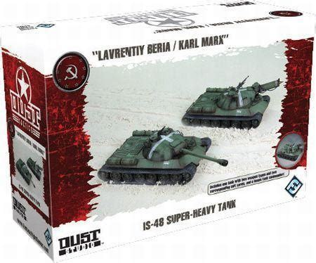 Dust Board dust tactics is 48 heavy tank expansion