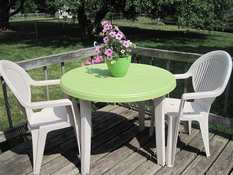 Pvc Patio Table Plastic Patio Table And Chairs Beautiful Green Plastic Garden Table And Chair Styles